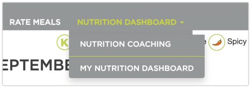 Nutrition Dashboard - Factor 75