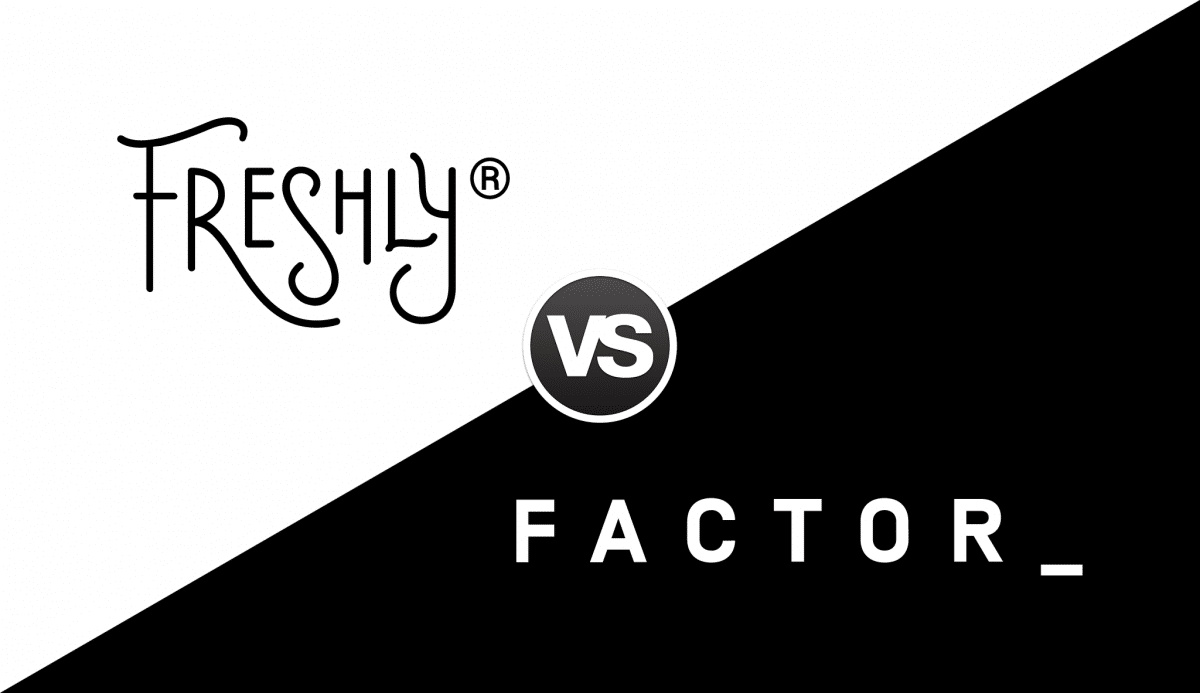 Freshly vs Factor